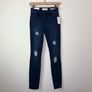Pacsun Perfect Fit Jegging Distressed Skinny Jeans